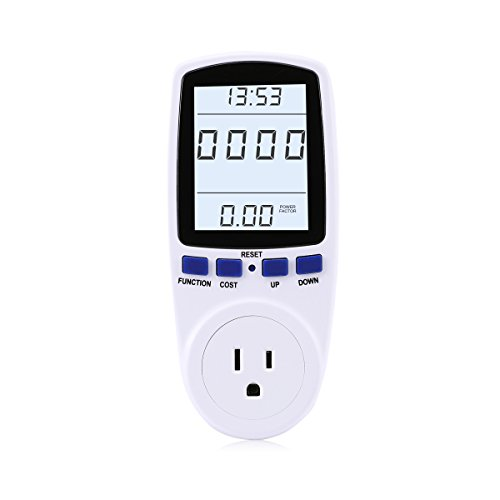 LANMU Electricity Monitor Voltage Overload