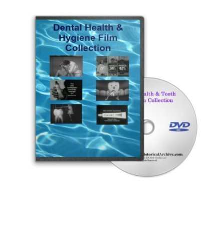 Historic Dental Health, Tooth Care, Oral and Dental Hygiene Film Collection on DVD - Plus Crest, Dentu-Creme, Macleans and Micrin Tooth Care Commercials (Creme Plus)