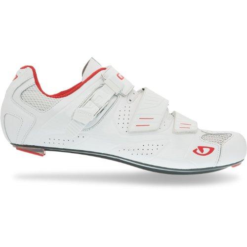 Giro 2012 Mens Factor Road Bike Shoes (White - 42.5)
