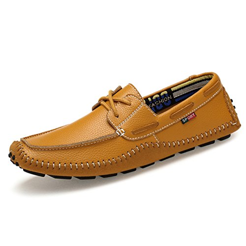 Barca Pelle on Donna Scarpe Stringate Oxford da Slip Brown Scarpe da in Mocassini Scarpe Uomo da da Uomo wSXgq4x