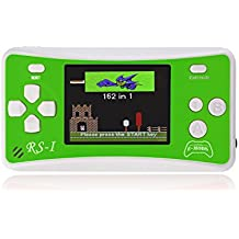 "E-MODS GAMING® RS-1 NEW! 8-Bit Retro 2.5"" LCD 162x Video Games Portable Handheld Console (Green)"