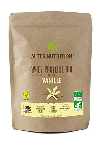 Alter Nutrition - Whey (proteína de suero de leche) ecológica: Proteína whey ecológica