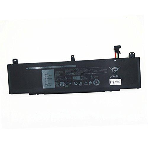 Dentsing 15.2v 76Wh TDW5P Battery for Dell Alienware 13 R3 ALW13C Series