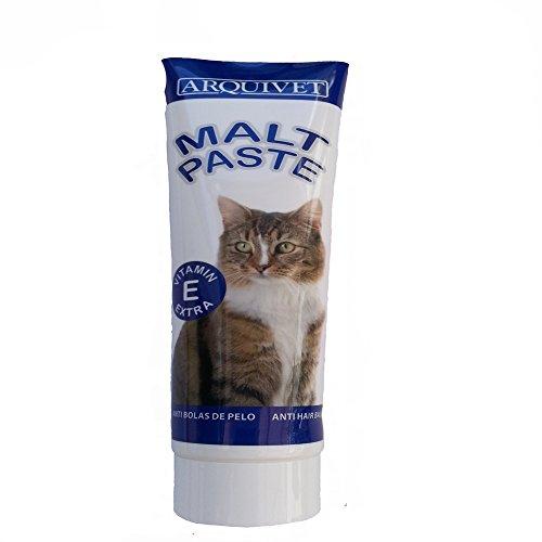 PASTA MALTA GATOS ARQUIVET 100 gr ,PASTA PARA LAS BOLAS DE PELO,pasta malta gato para la ingestas de pelos en el estomago ,