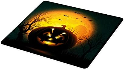 Amazon com: Lunarable Halloween Cutting Board, Fierce