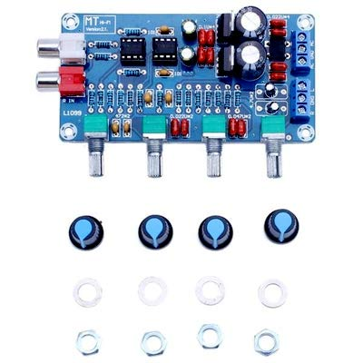 XH-M164トーンボードNE5532 OP-AMP HIFIアンプボリュームトーンEQコントロールボード