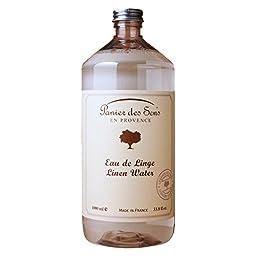 Panier Des Sens En Provence, Lavande Eau De Linge - Lavender Linen Water - 1 Liter - Made in France