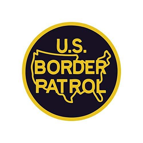 US Border Patrol Sticker Decal Self Adhesive Vinyl Immigration Homeland Security Vinyl Made in - Decal Patrol