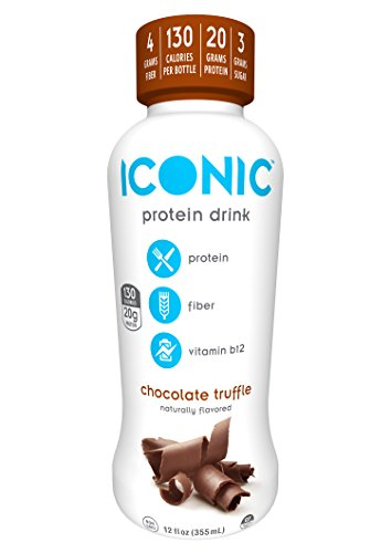 Iconico Grass-Fed Protein Drink, Ready-to-Drink, Chocolat...