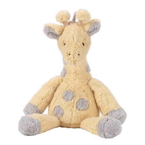 - Lambs & Ivy Me & Mama Yellow/Gray Plush Giraffe Stuffed Animal - Mango