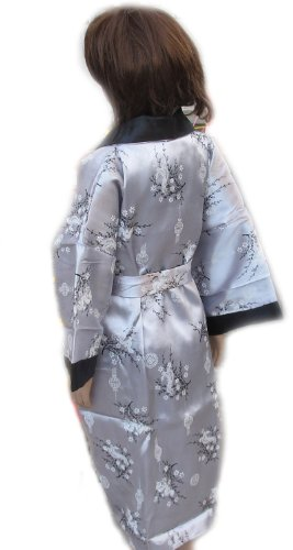 CHILDREN BATH ROBE JAPANESE KIMONO SATIN AND SILK WITH COMPLIMENTARY by eThaiComplex (Image #3)
