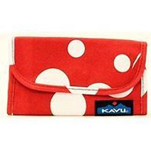 KAVU Big Spender Wallet, White Dot, (Big Spender Wallet)