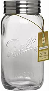 Jarden Home Brands 1440070016 Ball Decor Jar, 1-Gallon, 1 Gallon, Clear