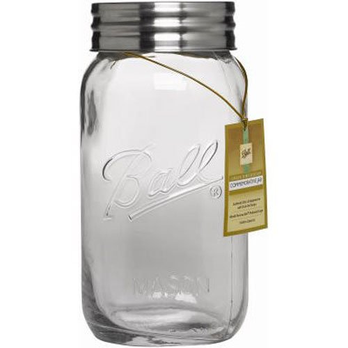 Jarden Home Brands 1440070016 Ball Decor Jar, - Mason Ball 1gallon Jar