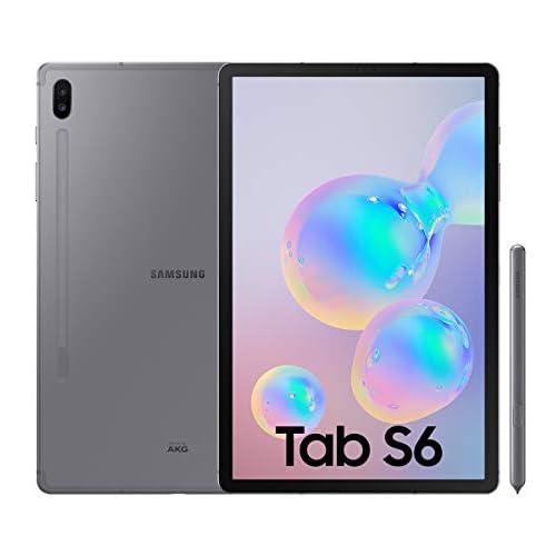 chollos oferta descuentos barato Samsung Galaxy Tab S6 Tablet de 10 5 128 GB S Pen Incluido Pantalla sAMOLED WiFi Gris