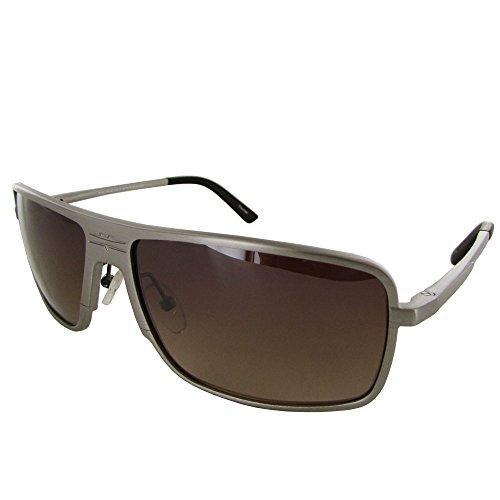 Vuarnet Extreme Unisex VE 7004 Square Aviator Polarized Sunglasses, Matte ()