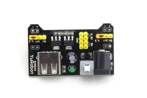 Ecloud Shop/® 3.3V//m/ódulo de alimentaci/ón de 5V MB102 breadboad para el Arduino proporcionad
