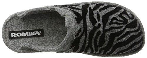 Romika Damen Mikado 07 Pantoffeln Grau (Grau (710))