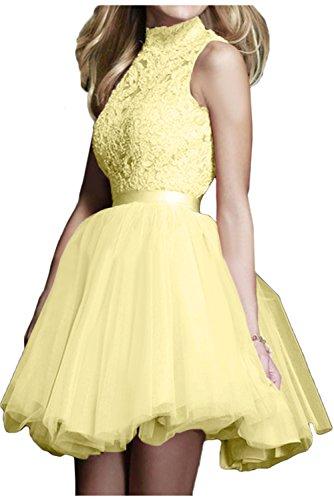amarillo Topkleider Vestido trapecio para mujer qZIXq