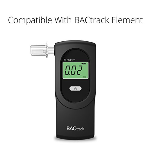 BACtrack Professional Breathalyzer Mouthpieces (20 Count) | Compatible with BACtrack S80, Trace, Scout,  Element & S75 Breath Alcohol Testers by BACtrack (Image #4)