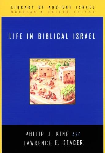 life in biblical israel  book published january 16  2002