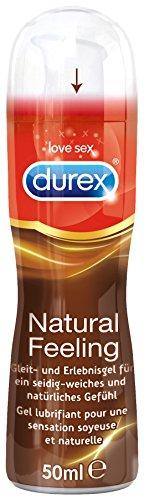Durex Natural Feeling Gleit- und Erlebnisgel, 1er Pack (1 x 50 ml)