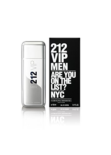 212 Vip by Carolina Herrera Eau De Toilette Spray for Men...