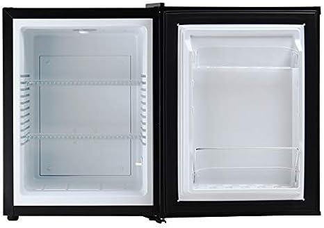 26L voll leiser Tischplatte Mini K/ühlschrank,Minibar,Schwarz Display4top Mini-K/ühlschrank
