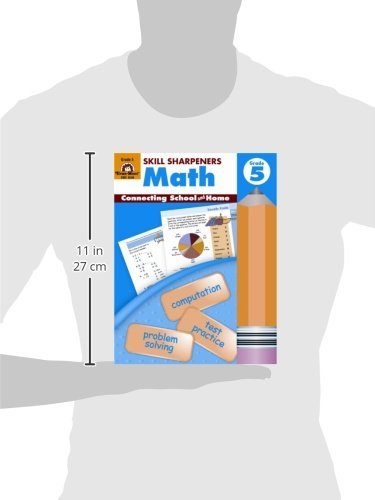 Amazon.com: Skill Sharpeners Math, Grade 5 (0023472045492): Evan ...