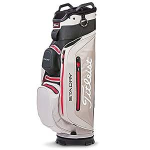 Titleist Stadry Deluxe Bolsa para Palos de Golf, Hombre ...