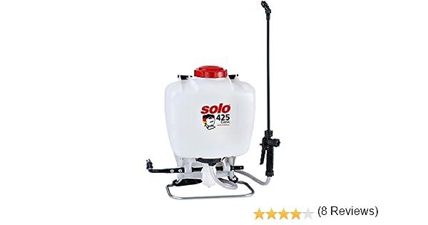 SOLO 425 Pulverizador de Mochila Profesional de 15 litros, Blanco ...