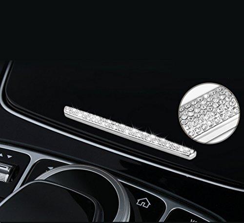YIKA Benz Auto Center Console cup of the position Diamond Decoration For Mercedes-Benz New E Class E200L E300L C Class GLC