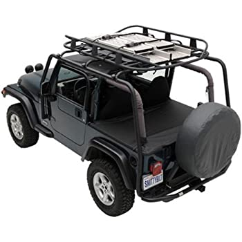 Smittybilt 76717 SRC Roof Rack For Jeep JK 4 Door