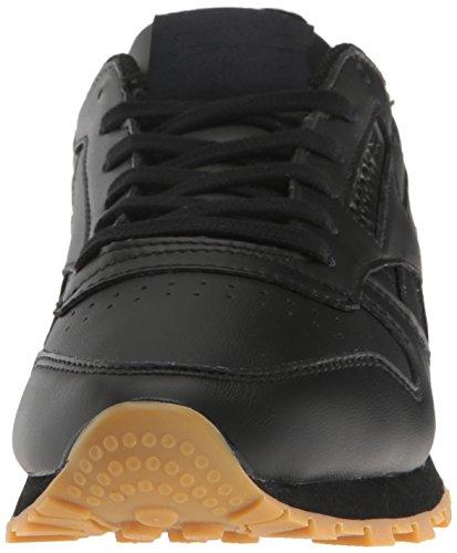 Zapatillas Reebok Para Mujer Cl Lthr Met Diamond Fashion Black / Gum