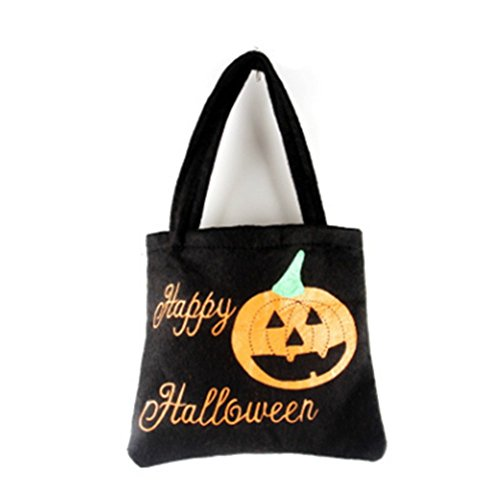 Halloween Candy Totes Bags Trick Or Treat Pumpkin Spider Mini Goody Bags by Einfachheit (Halloween Goodie Bags 2017)