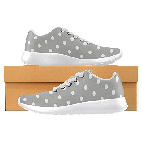 InterestPrint Womens Loafers Classic Casual Canvas Slip On Fashion Shoes Sneakers Mary Jane Flat Multi 23 5eNJ1F