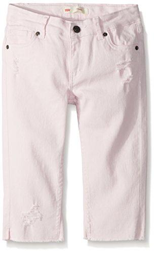 Levi's Girls' Big Denim Skimmer Shorts, Light Lilac, 14