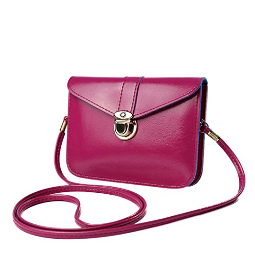 Women Shoulder Bag,Zero Purse Bag Leather Handbag Single Messenger Phone Bag by-NEWONESUN ()