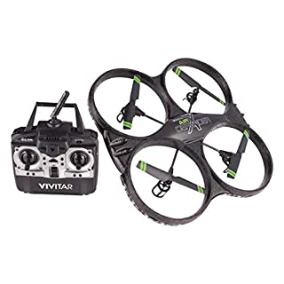Vivitar DRC-333 Air Defender X Camera Drone is The Perfect Drone for All Types of Flying Fun. with 16 MP Images and HD Video Recording