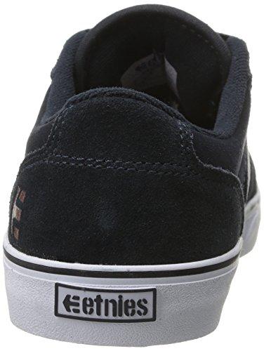 EtniesBarge Ls - Zapatillas de Skateboarding hombre azul - Blau (Dark Navy)