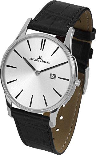 Jacques Lemans London 1-1936B Mens Wristwatch Flat & light