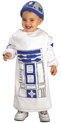 Star Wars Baby Bunting R2D2 Costume, White, 12-24 Months (Japanese Anime Costumes For Sale)