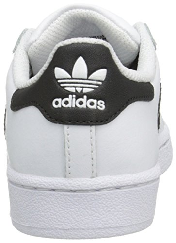 Adidas Superstar bianco nero bambini Formatori–C77394