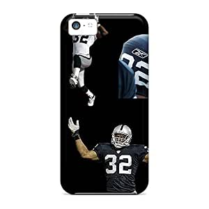 New Style NikRun Oakland Raiders Premium Tpu Cover Case For Iphone 5c
