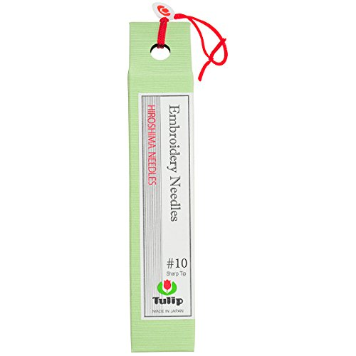 Sewline Tulip Embroidery Needles, Size-10, 8-Pack