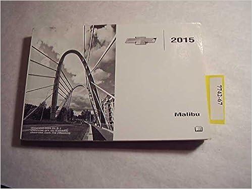 2015 malibu manual