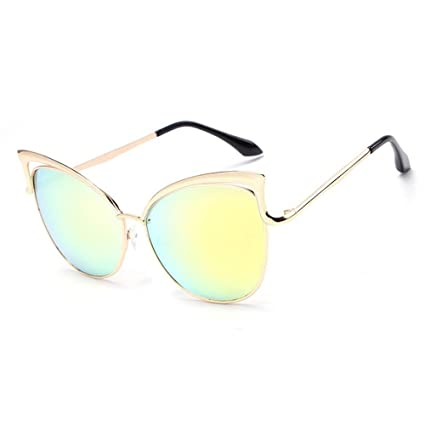 Man&Y Gafas de Sol para Mujer Personalidad PC Aolly Montura ...