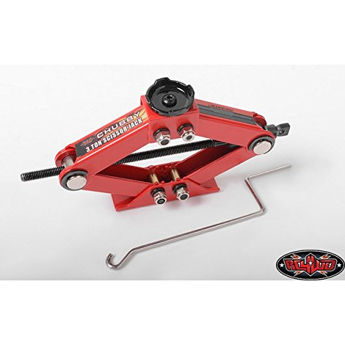 Chubby 3 Ton Scale Scissor Jack for RC Cars/Toys - Not an Actual Automotive - Cars Chubby