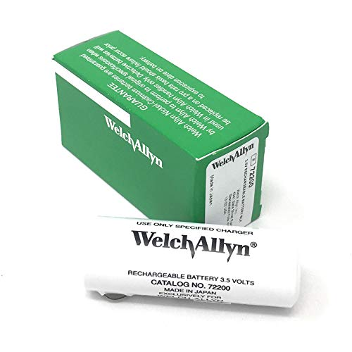 Genuine Welch Allyn 3.5v 72200 Rechargeable Battery ()