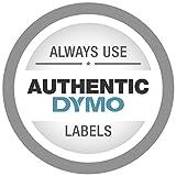 """DYMO Rhino Label, White 1/2""""X18',Black on White,18444"""